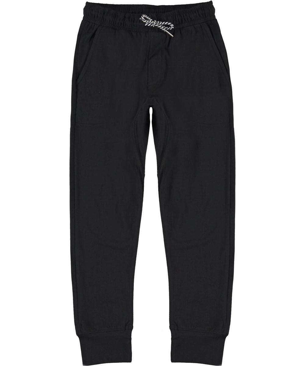Avant - Black - Økologisk bomulds sweat bukser