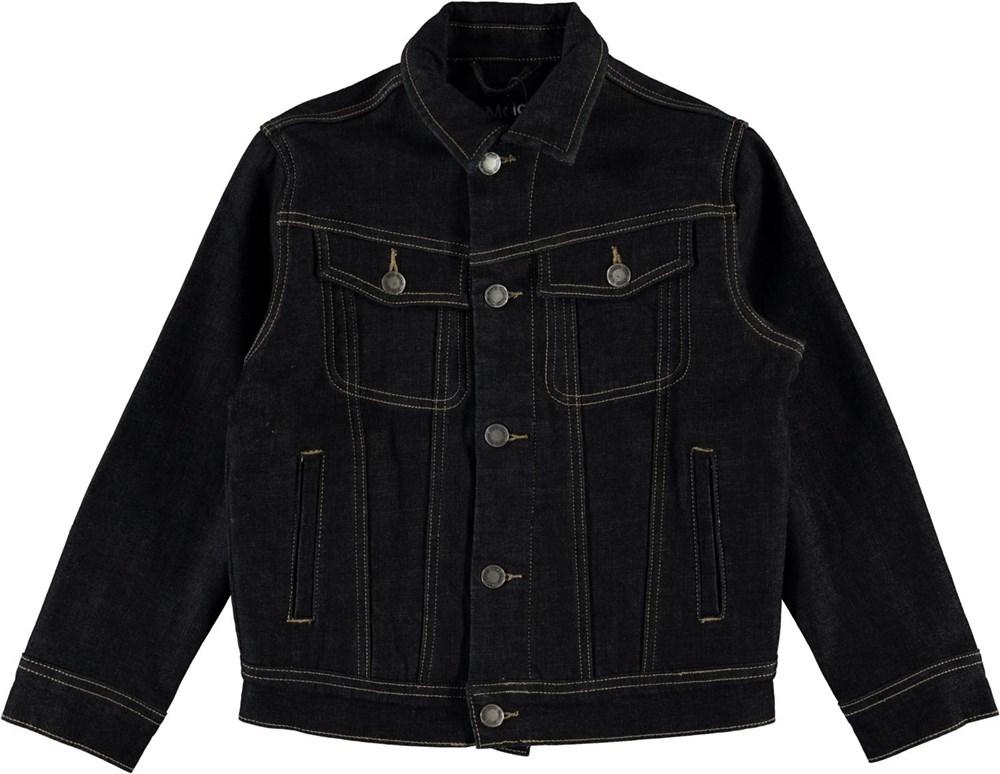 Harald - Dark Indigo - Mørkeblå denim jakke