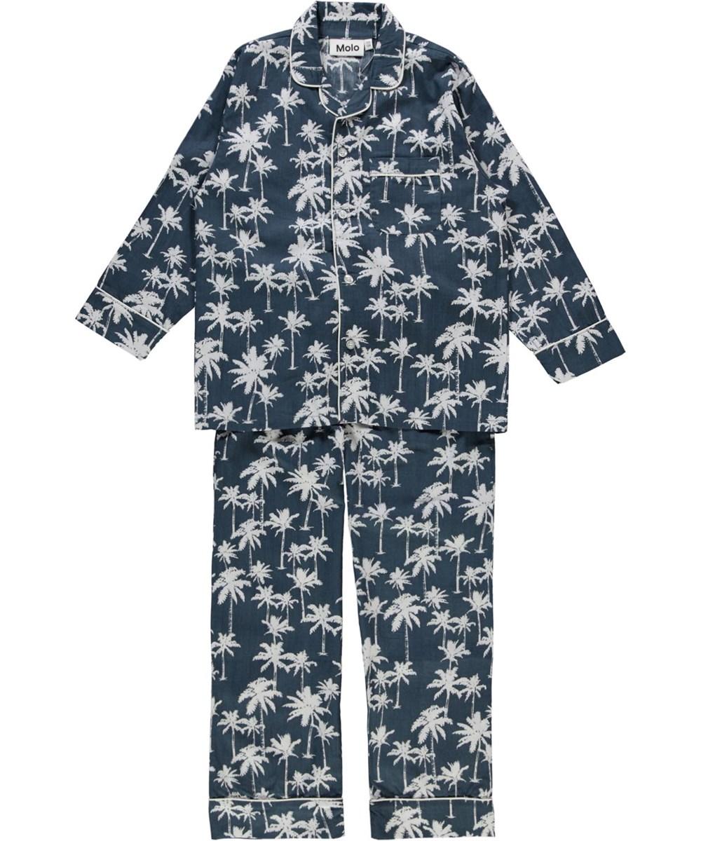 Lex - Night Palms - Økologisk palme nattøj