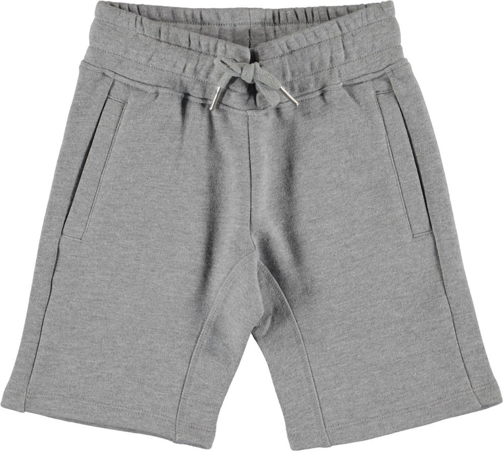 Akon - Grey Melange - Shorts - Dry Melange Grå