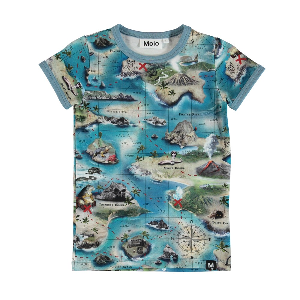 Rad - Treasure Map - T-Shirt S