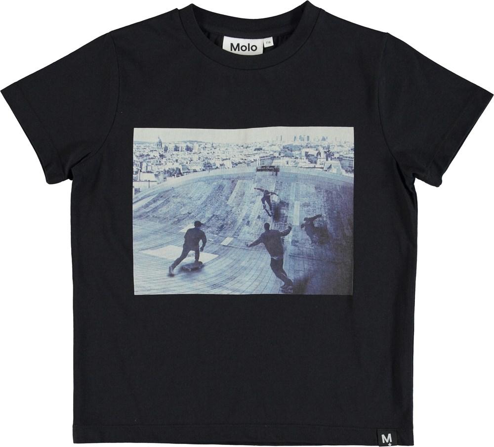 Raddix - Free Skate - T-shirt med print af skater.