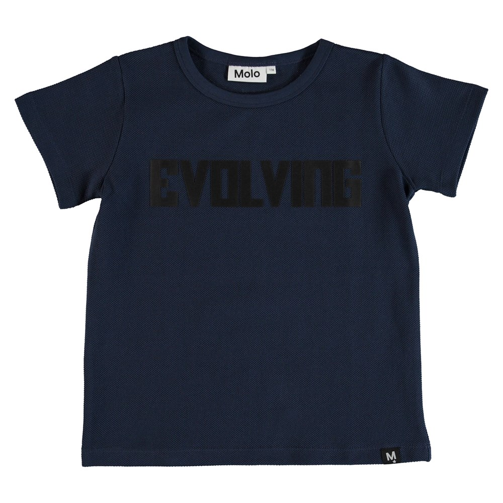 Raddix - Infinity - T-shirt med trykt tekst.