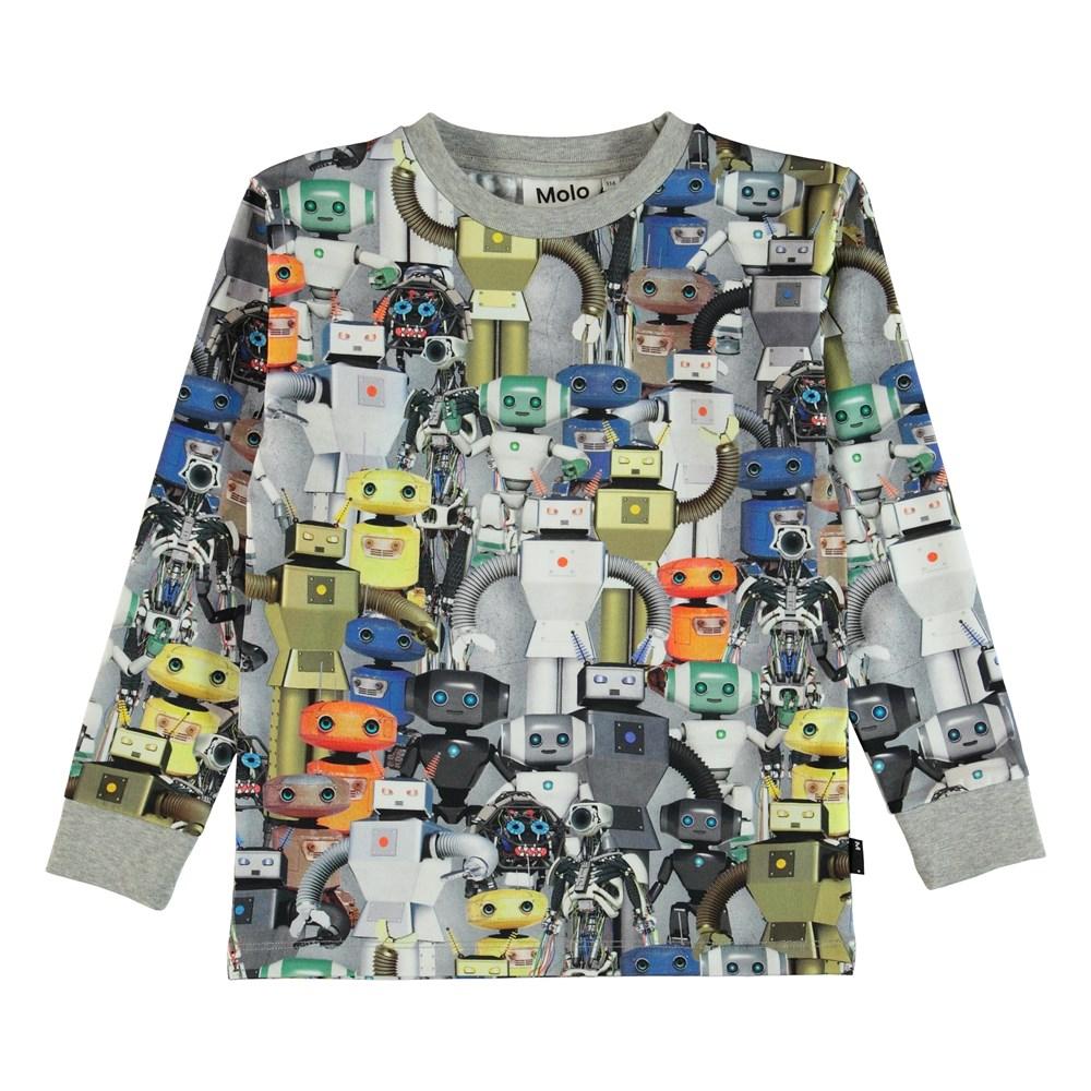 Rai - Robots - Bluse med robotter.