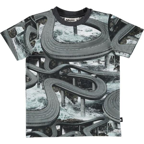 8dc24676c5c Ralphie - National Animals - Mørkeblå t-shirt med verdens ...