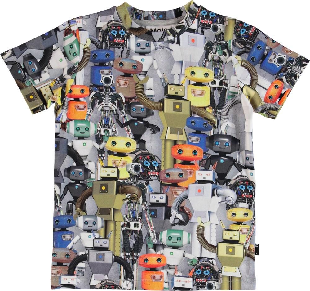 Ralphie - Robots - T-shirt med print af robotter.