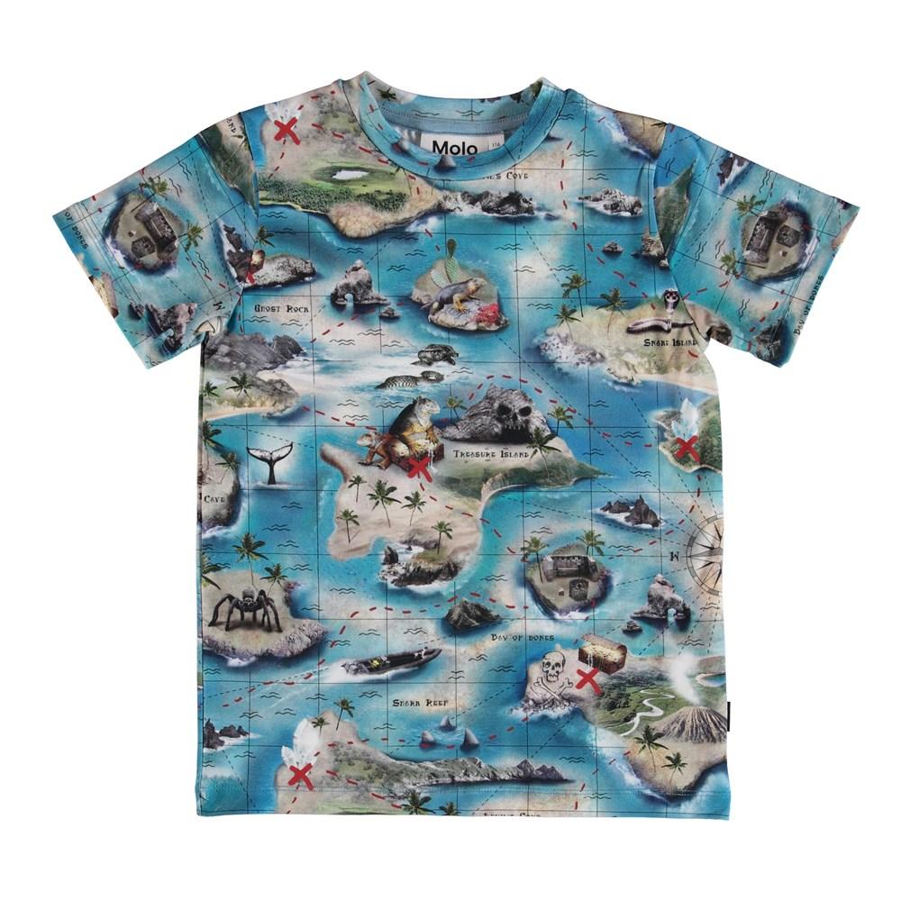 Ralphie - Treasure Map - T-Shirt S
