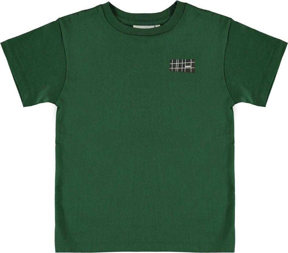 Rasmus - Eden - Økologisk grøn t-shirt
