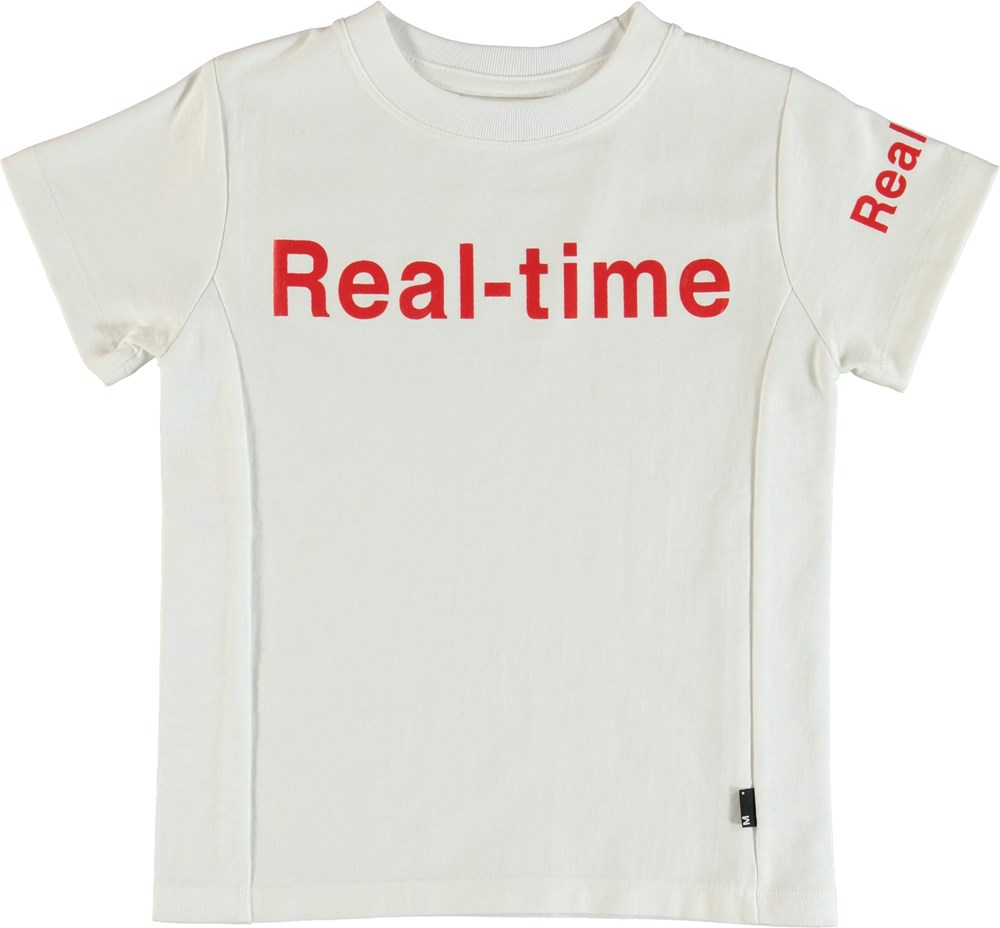 Rem - White - T-Shirt Hvid