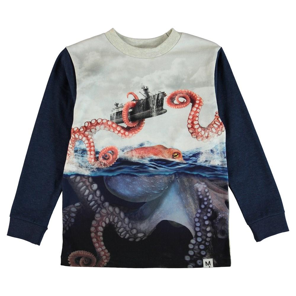 Renzi - Shipbattle - Bluse - Blå