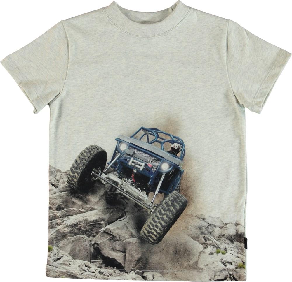 Road - Buggy - T-Shirt - Grå
