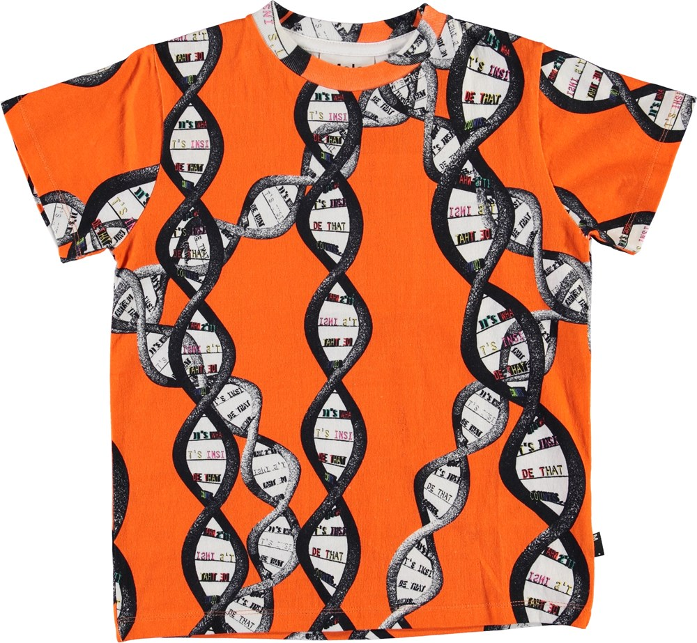 Road - DNA Orange - Orange DNA t-shirt