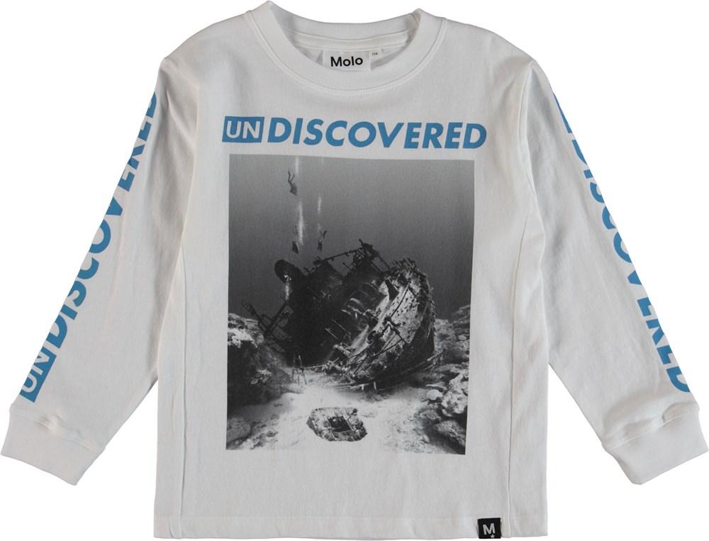 Rogert - Shipwreck B-W - Bluse
