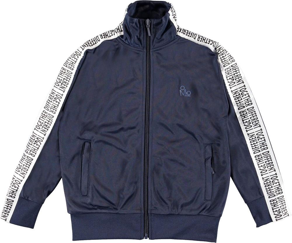 Maco - Infinity - Blå sporty jakke.