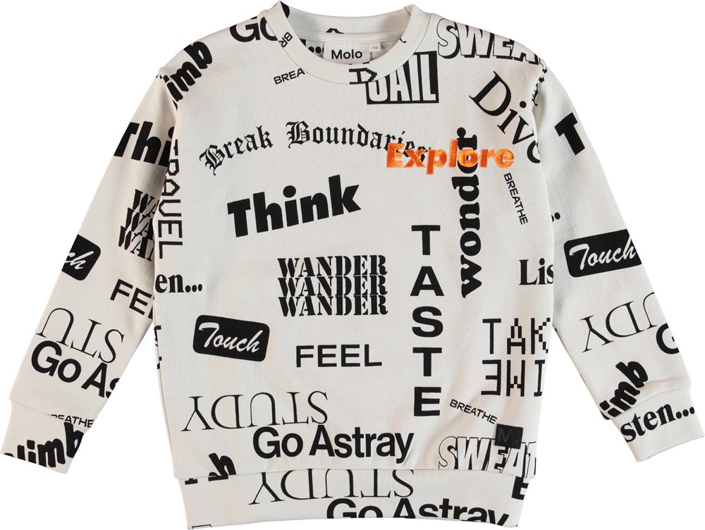 Madsim - Words - Madism Sweater