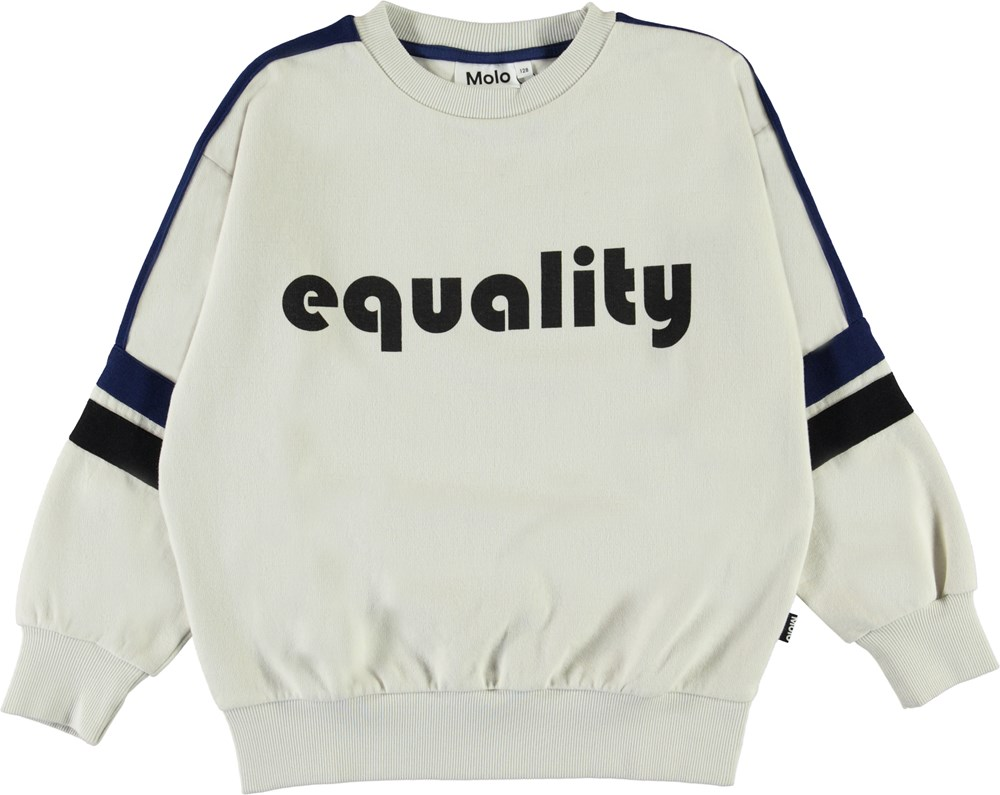 Mexon - Dark White - Equality sweatshirt