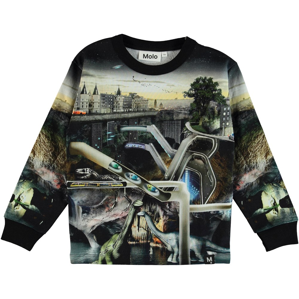 Mono - Over And Under - Sweatshirt med science fiction print.