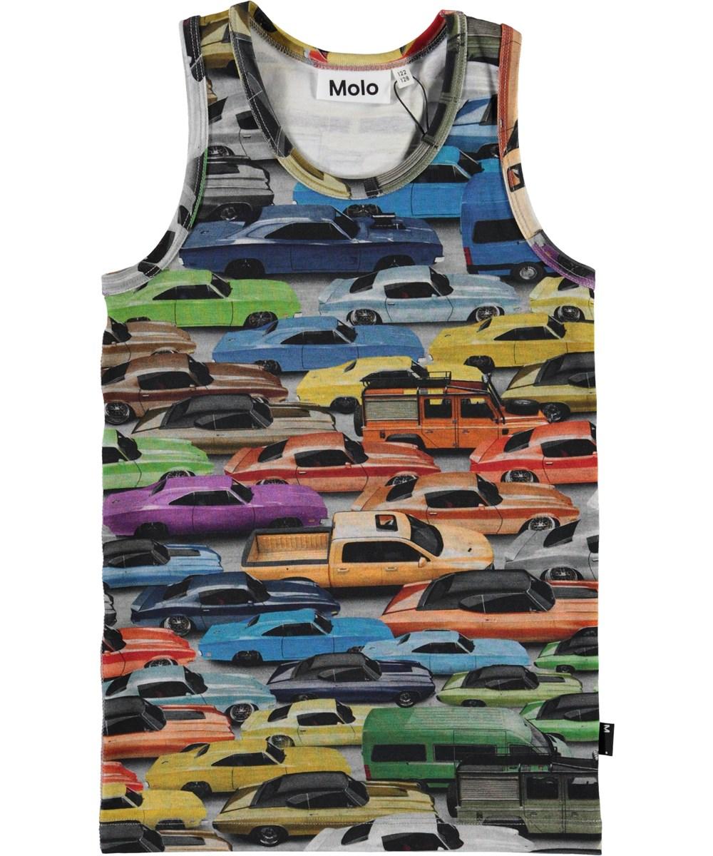Jim - Cars - Undertrøje med bil print