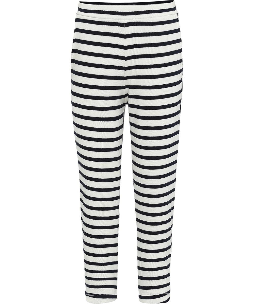 Adelyna - Kaptain Pearl Stripe - Breton randiga leggings.