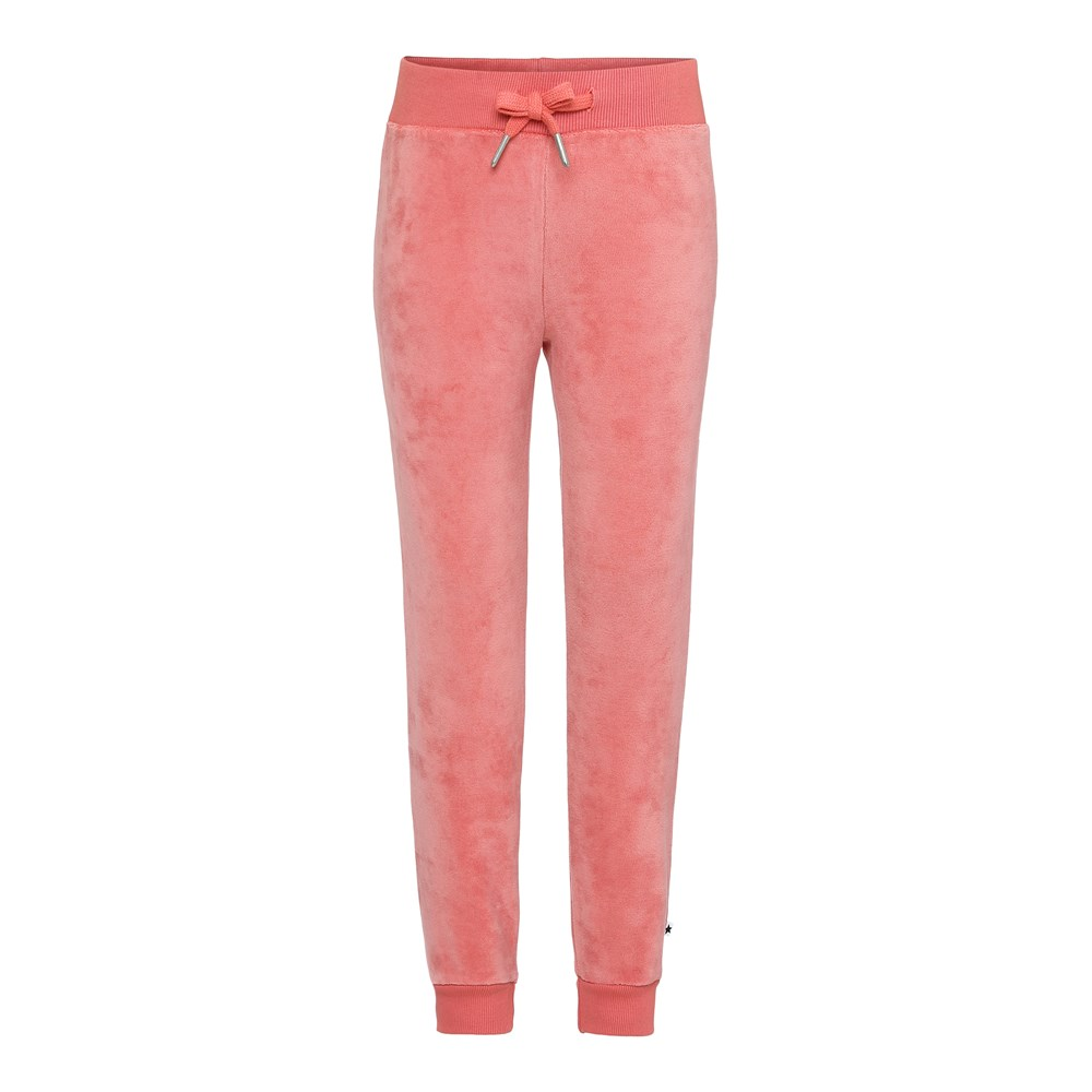 Adina - Rare Orchid - Velour sweatpants.
