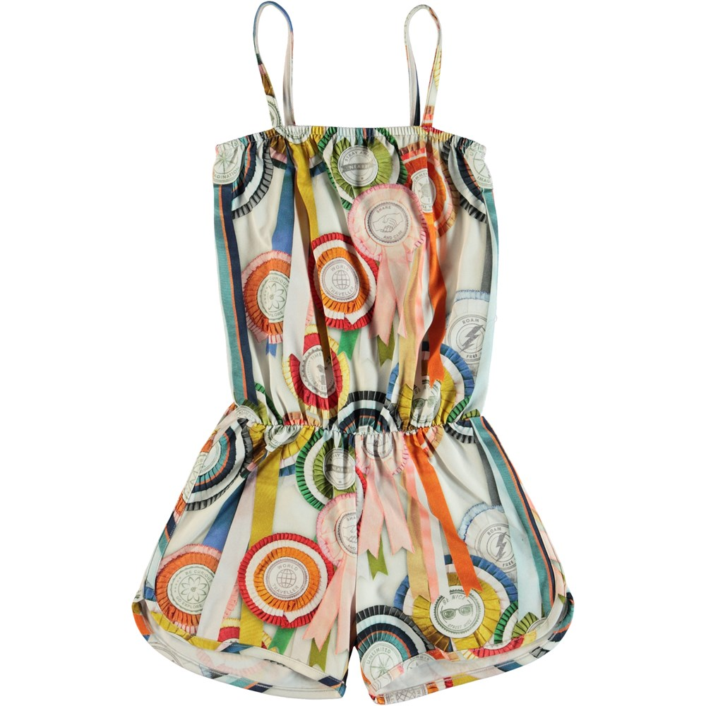Amberly - Rosettes - Playsuit