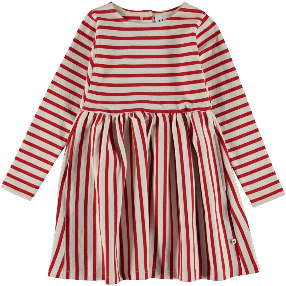 Carisma - Chili Pearl Stripe - Breton randig klänning.