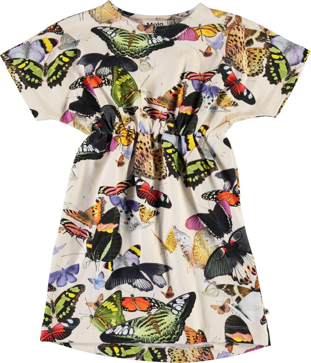 Christa - Papillon - Ekologisk fjäril klänning
