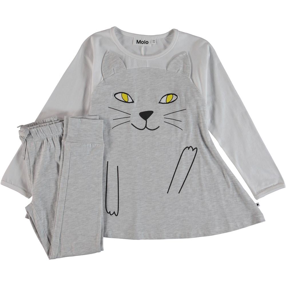 LilCat - Light Grey Melange - Lilcat Pyjamas