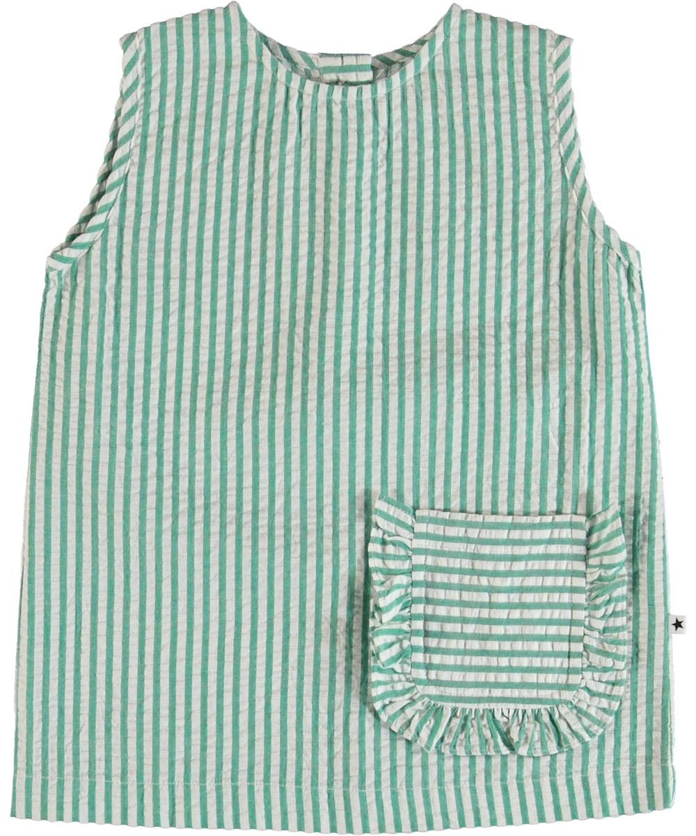 Rosalle - Green Stripe - Rasalle Topp