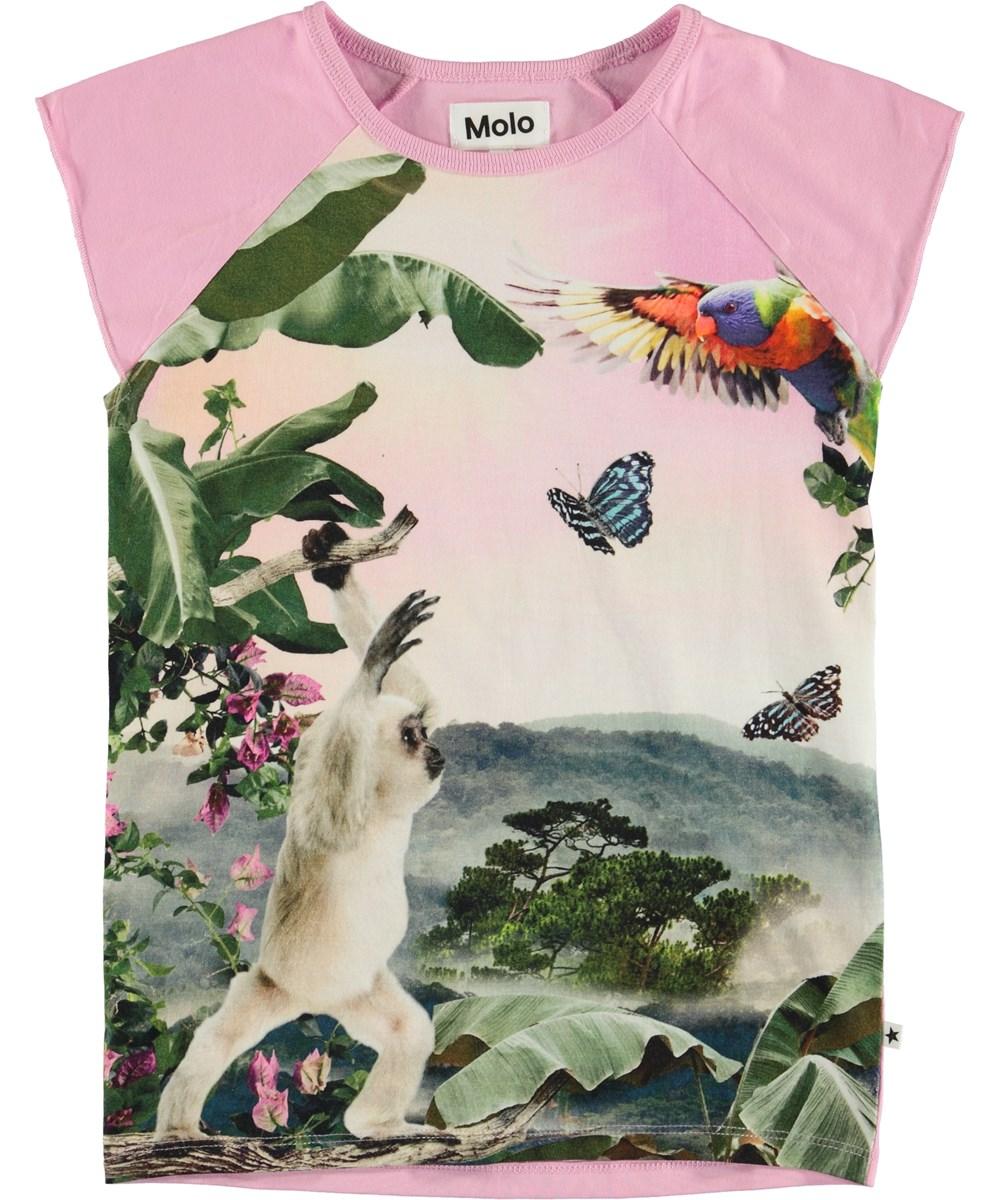 Rosetta - Amazon Mist - T-shirt med tryck av en apa