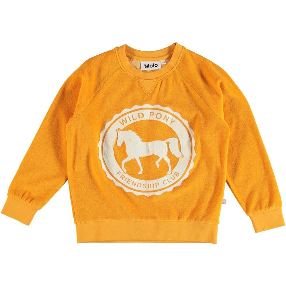 Mari - Orange Bloom - Sweatshirt