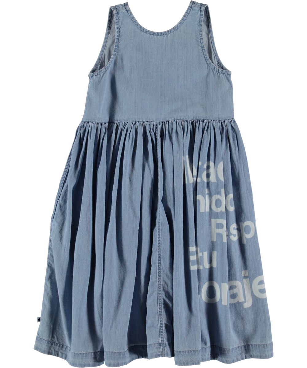 Caera - Summer Wash Indigo - Dress - Summer Wash Indigo