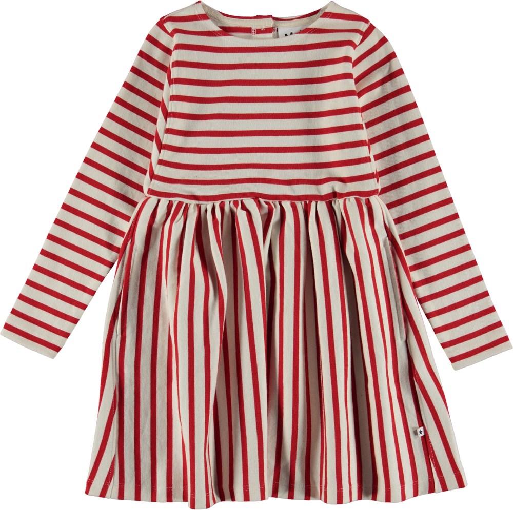 Carisma - Chili Pearl Stripe - Breton striped dress.
