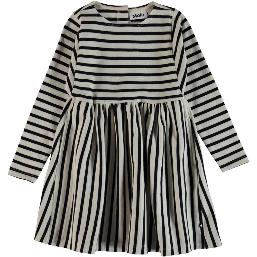 Carisma - Kaptain Pearl Stripe - Breton striped dress.