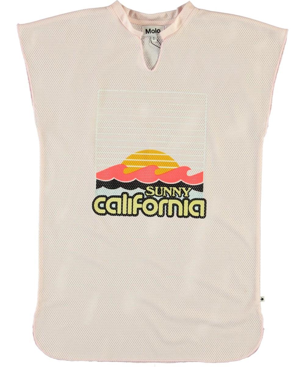 Carlene - Light Pink - Sunny California pink beach dress