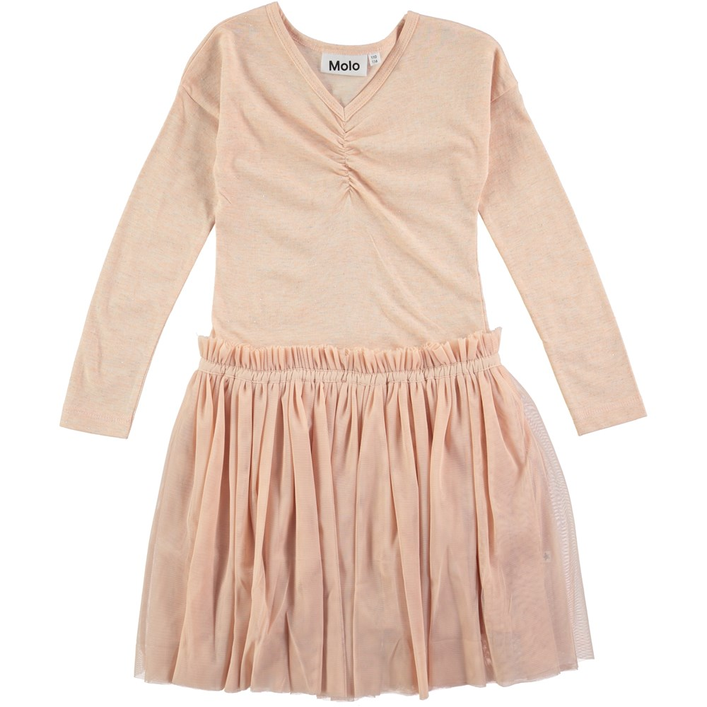 Celenia - Cameo Rose - rose coloured ballerina dress