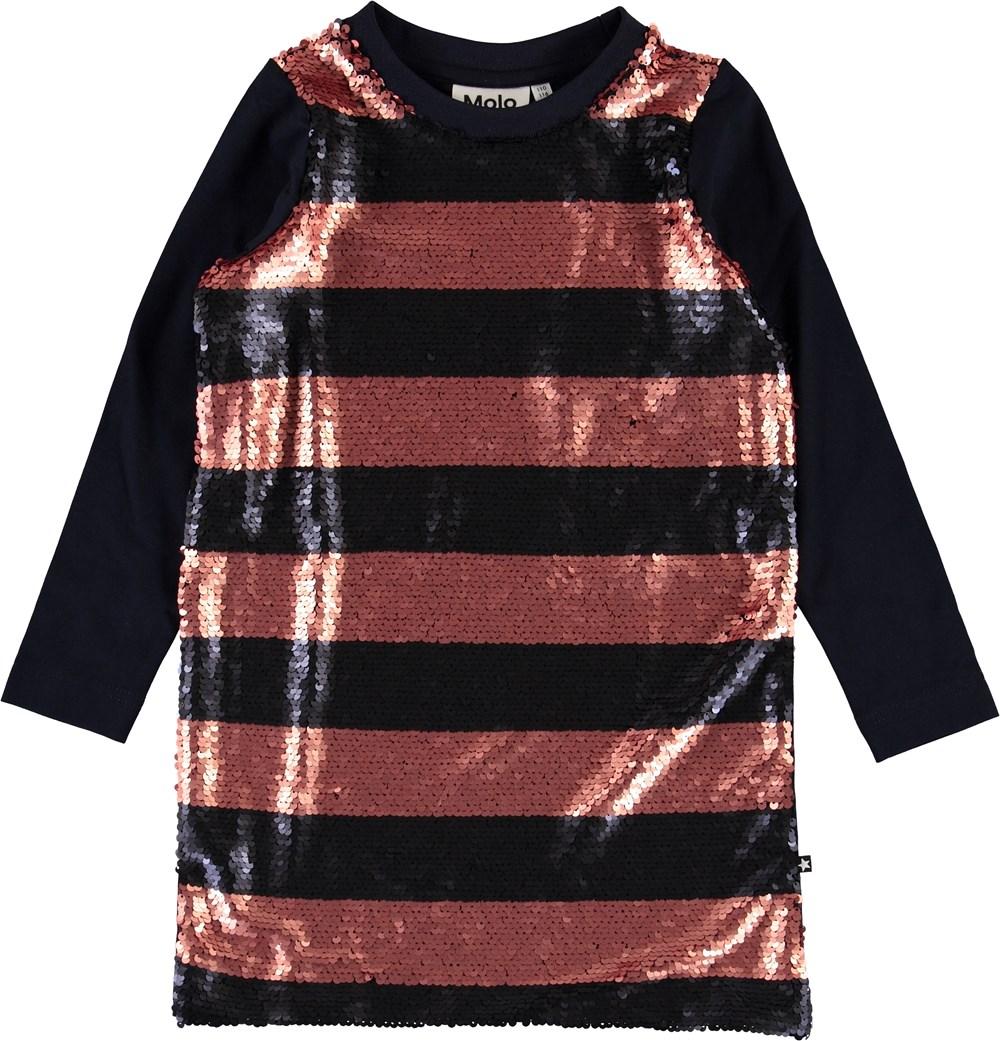 Chakala - Sky Captain - Striped pallet dress