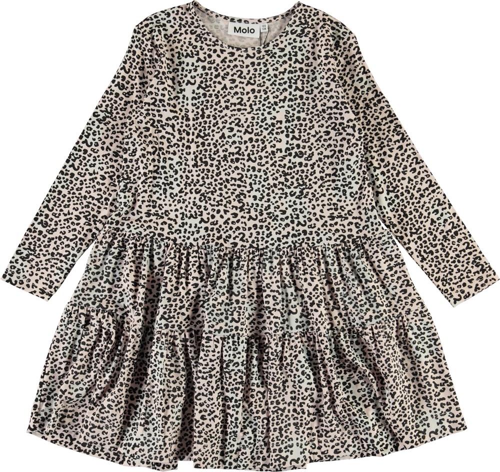 Chia - Mini Leo Powder - Leopard print dress