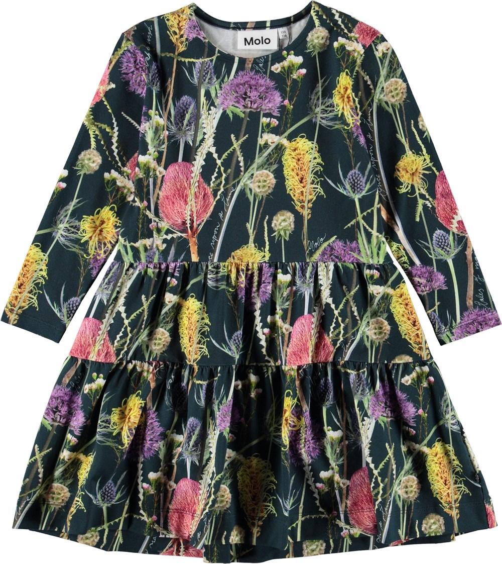 Chia - Sleeping Beauty - Dress with flowers.