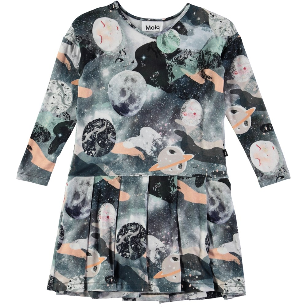 Cillie - Star Gazer - dress with univers print