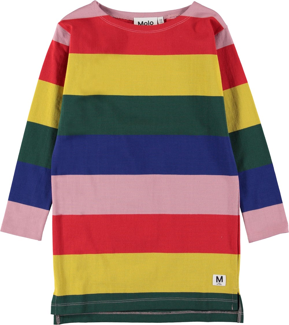 Colory - Midwinter Rainbow - Dress in rainbow colours.