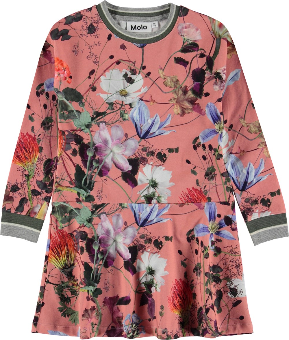 Conny - Flowers Of The World - Flower sporty dress.
