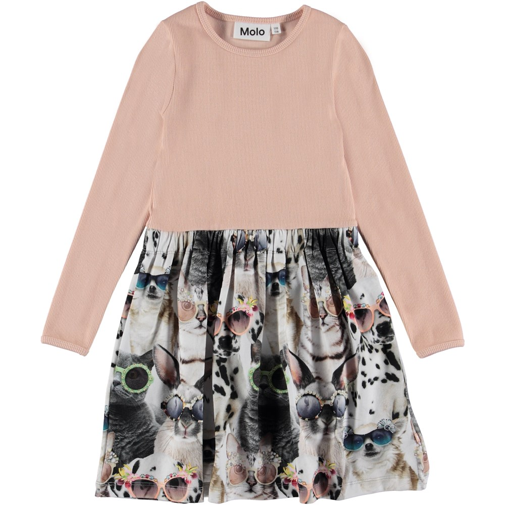Credence - Sunny Funny - Two-part dress with animal printed skirt.
