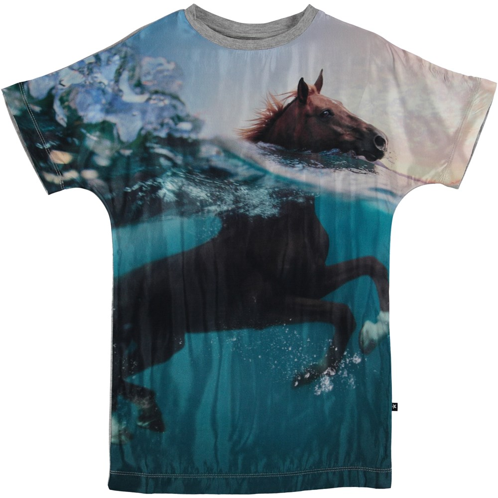 Cyrille - Swimming Horse - Dress - S