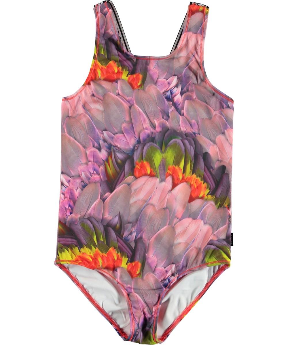Orchid - Cacatua - Floral sports bodysuit