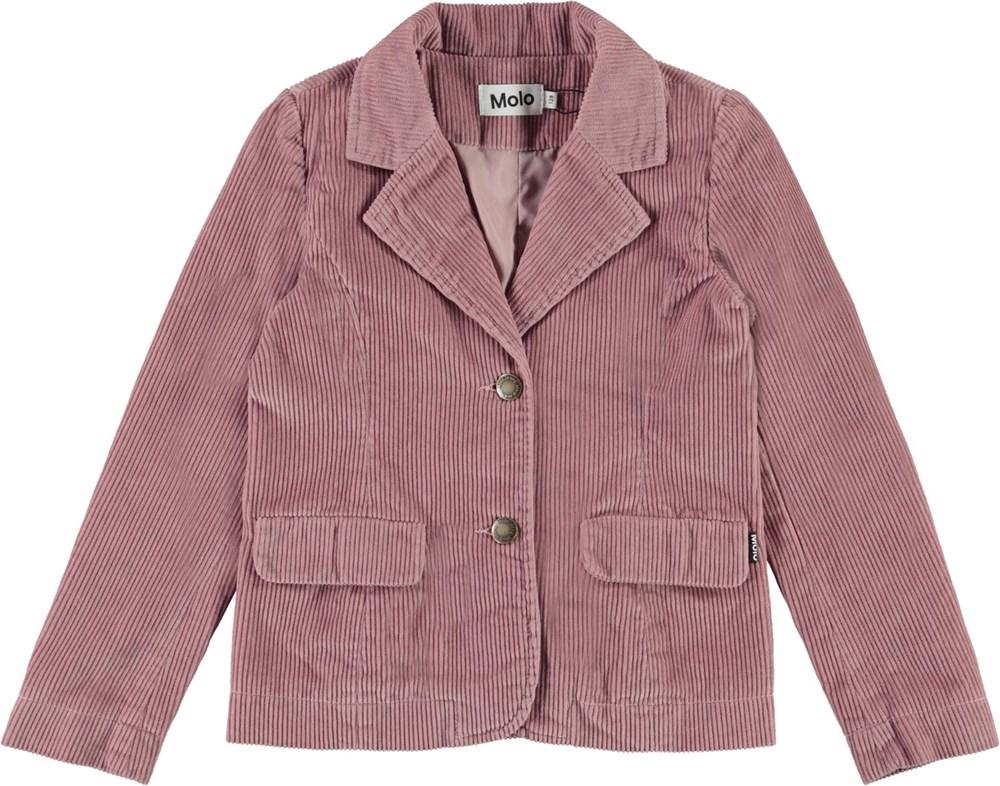 Harrietta - Rosequartz - Pink corduroy jacket