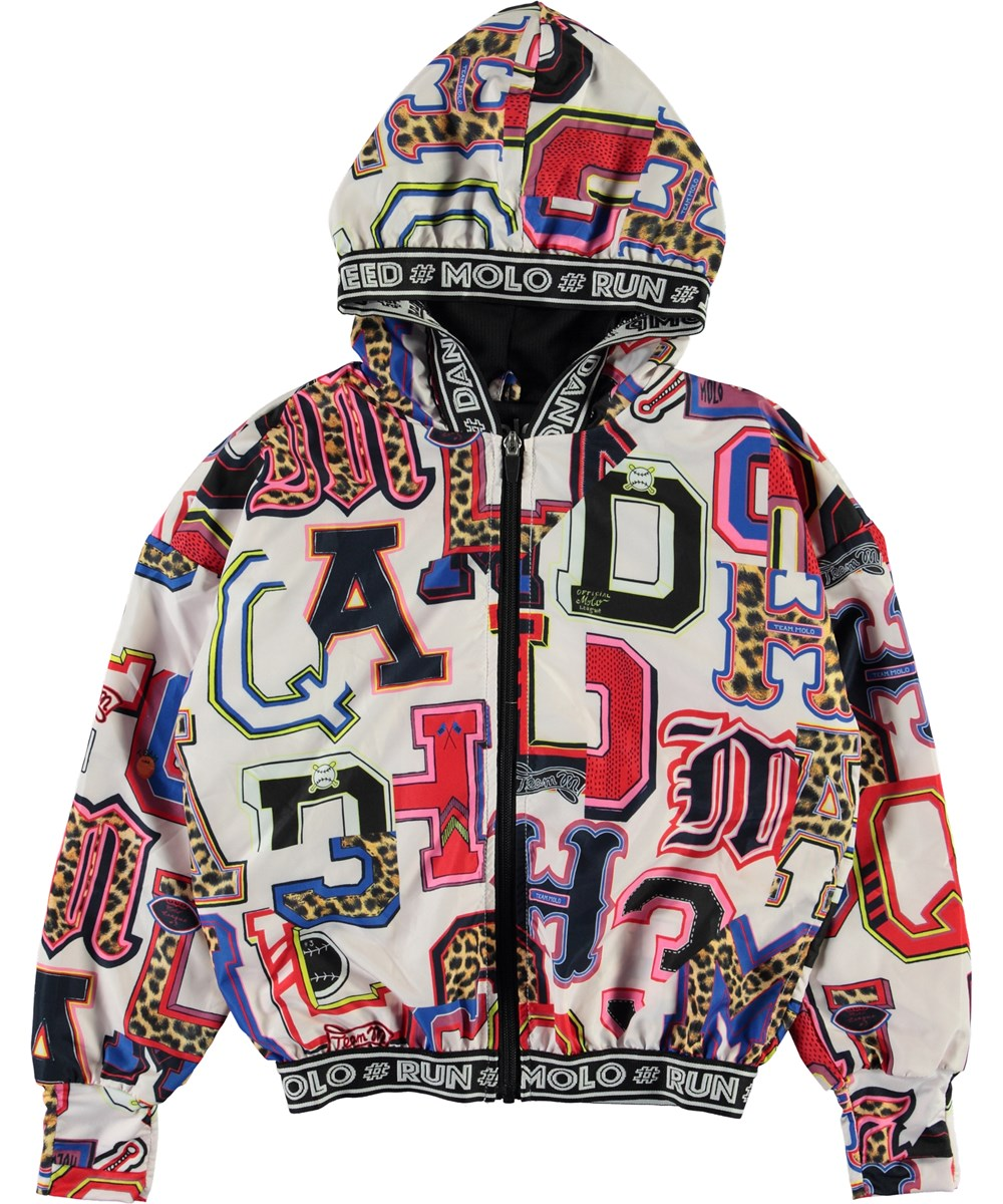 Ophelia - Typo - Sports jacket with graphic letter print
