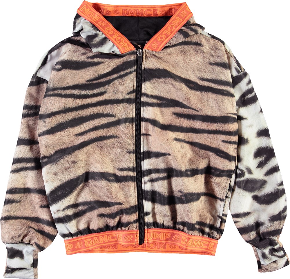 Ophelia - Wild Tiger - Sports jacket with tiger print