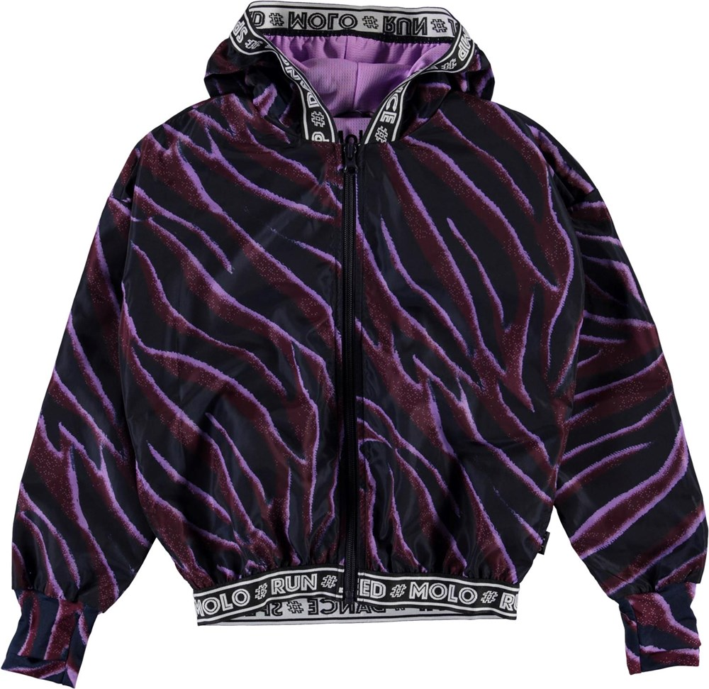 Ophelia - Zebra Stripes - Sports jacket in zebra stripes