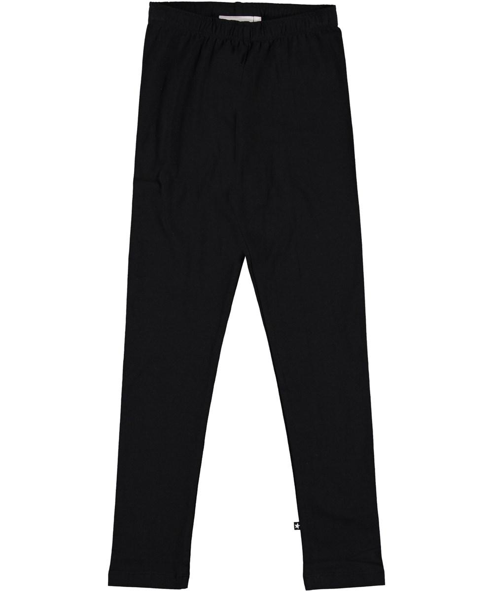 Nica - Black - Organic leggings in black